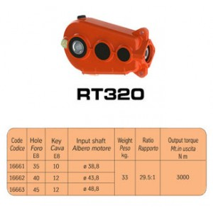 SCATOLE INGRANAGGI  RT320 (RT16661)