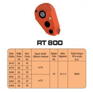 SCATOLE INGRANAGGI  RT800 (RT9470)