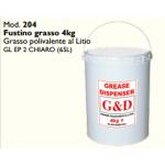 FUSTINO GRASSO POLIVALENTE AL LITIO 4 KG