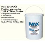 """FUSTINO GRASSO 4 KG """"MAX"""" BLUE GREASE"""